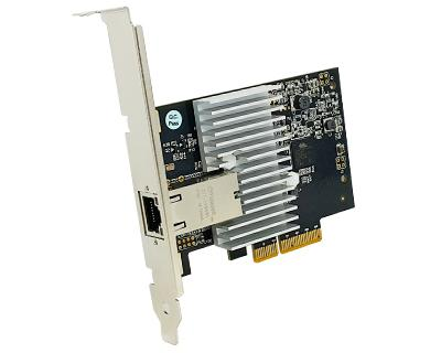 GE10-PCIE4XG202|Multi-Gigabit (10G/ 5G/ 2.5G/ 1000BASE-T/ 100BASE-TX) Ethernet to PCI Express x4 Gen 2 Host Card