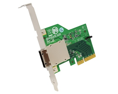 EPCIE4XCA02|External PCIe (iPass x4 38pin compatible) to PCIe x4 Passive Cable Adapter