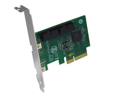 DIP2X-PCIE4XG210|Dual Internal PCIe x2 to PCIe x4 Gen 2 Switch Host Card