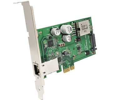 GE2P-PCIE1XG201|10/100/1000M/2.5G Ethernet (POE+) to PCI Express x1 Gen 2 Host Card
