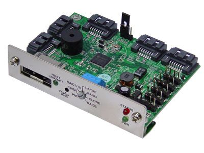 SPM393|One to Five SATA Port Multiplier RAID Controller