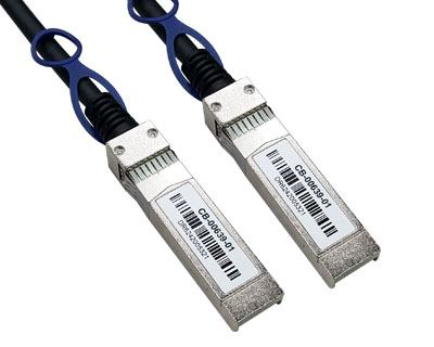 SFP+PDAC|10G SFP+ Passive Direct Attach Cable (CB-00638,CB-00639,CB-00640)