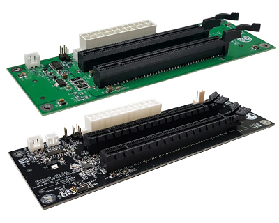 PCIEX16D01|PCIe x16 Expansion Docking Board