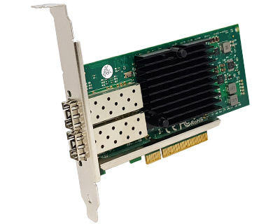 SFP10X2-PCIE8XG21|Dual 10 Gigabit Ethernet (SFP+) to PCI Express x8 Gen 2 Host Card