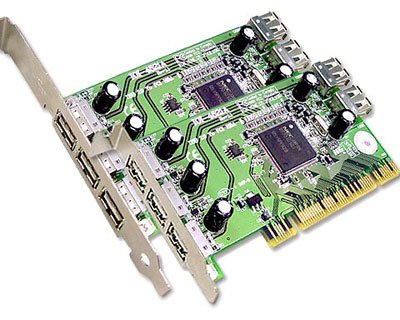 4521A|5-port USB 2.0 to PCI Host Card featuring NEC USB 2.0 Host Controller (Low Profile PCI Form Factor)