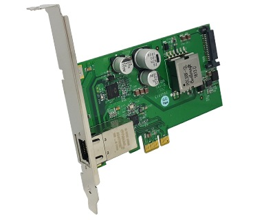 GEP-PCIE1XG101|10/100/1000M Ethernet (POE+) to PCI Express x1 Host Card
